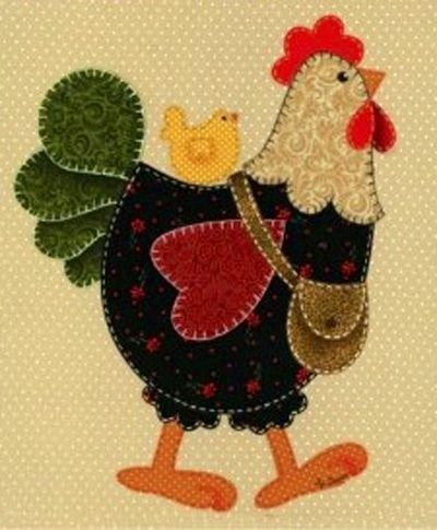 Toallas decoradas con patchwork party