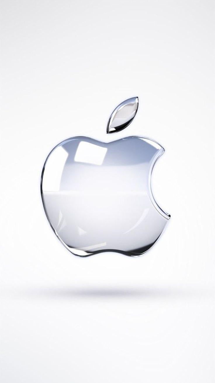 【人気6位】ガラスのAppleロゴ - iPhone壁紙
