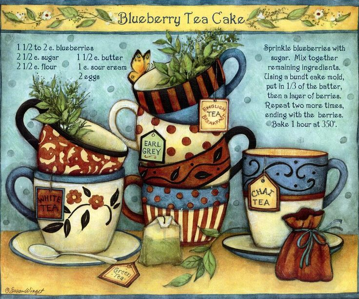 Blueberry Tea Cake recipe