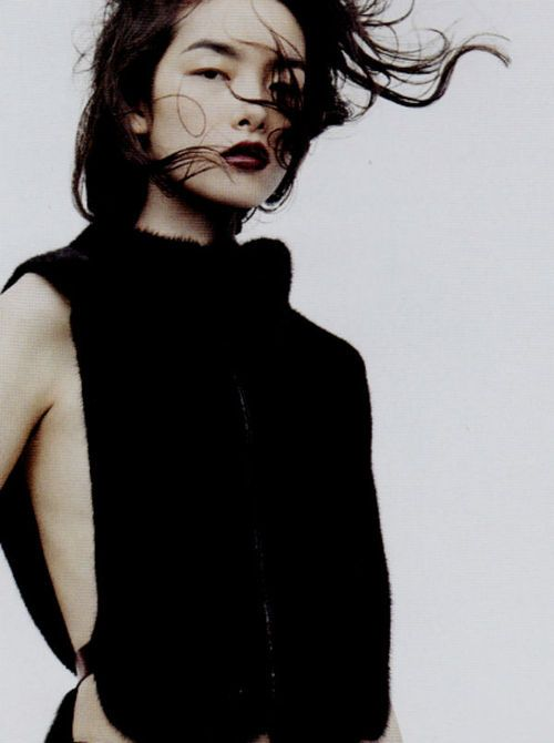 Fei Fei Sun by Josh Olins for Vogue China, November 2011.