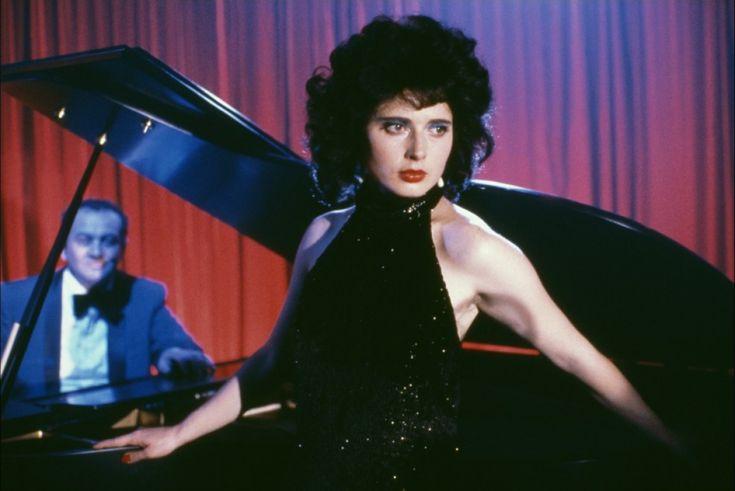 Isabella Rossellini in Blue Velvet movie.