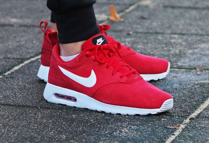 "Nike Air Max Tavas Leather ""Gym Red"""