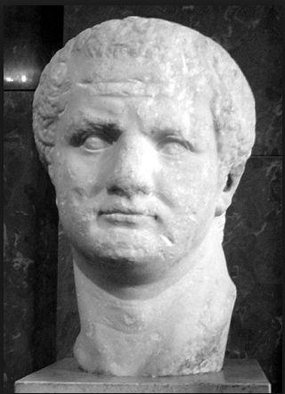 Kejser Titus(39 e. K.r - 81 e. Kr.) - var romersk kejser, og blev myrdet af sin bror i 81 e. Kr.