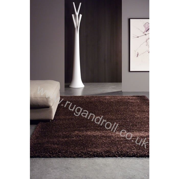 Master Craft Twilight 7777 Chocolate Shaggy Rug ** Cheapest Online Seller  For All