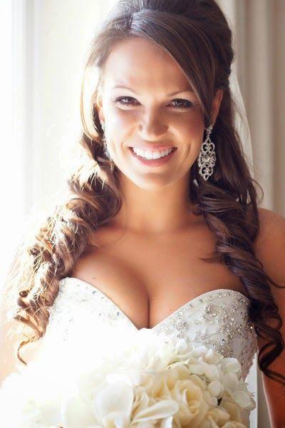 Halbhoch Halber Abstieg der Hochzeit Frisuren - MyFur die Ehe