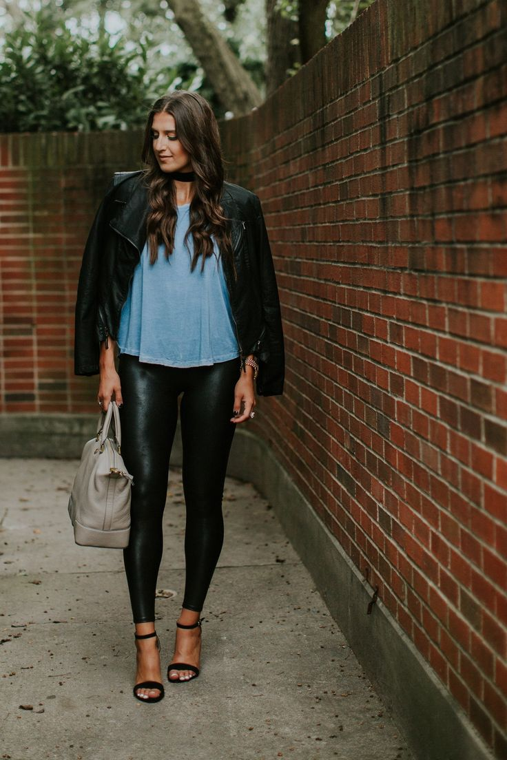 Sexy Faux Leather Leggings : Awesome Faux Leather Leggings