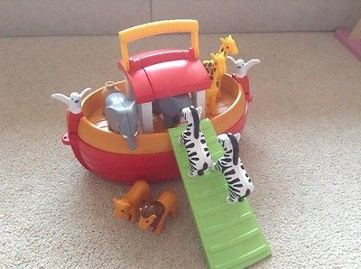 Playmobil 123 Noah's ark - Noah Wife Animals