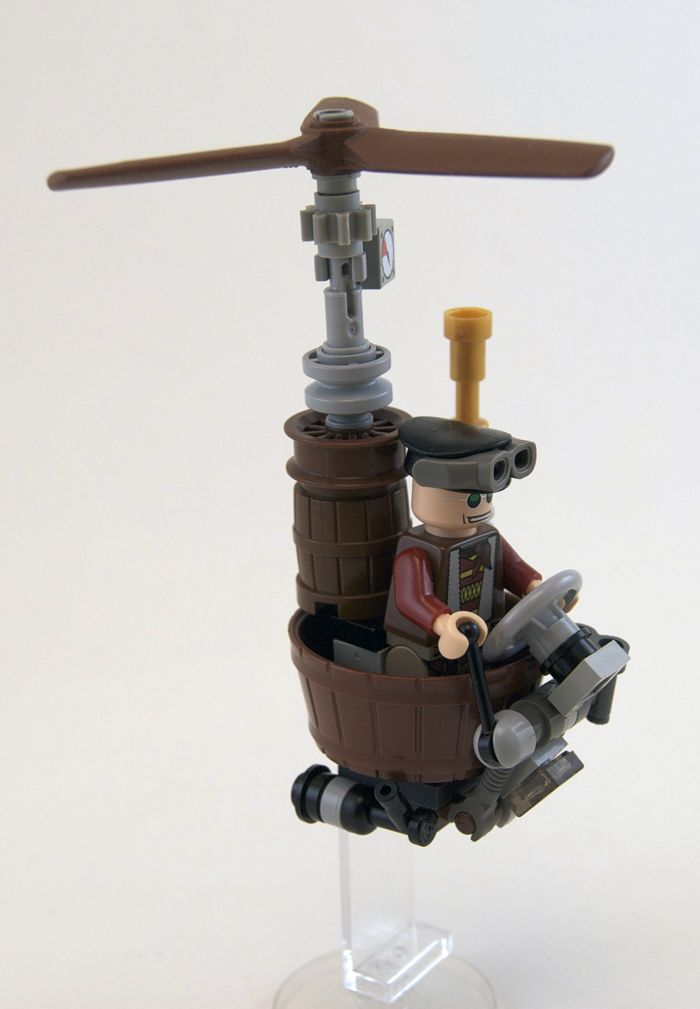 LEGO steampunk.   When you think about it, isn't all LEGO kind of steampunk?