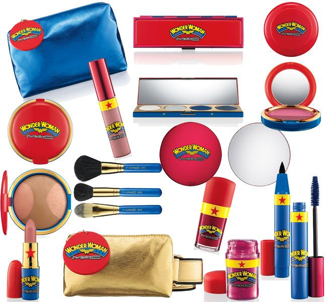 M∙A∙C Wonder Woman Collection Yeah...so I'm gonna need all this stuff right here in my Christmas Stocking.