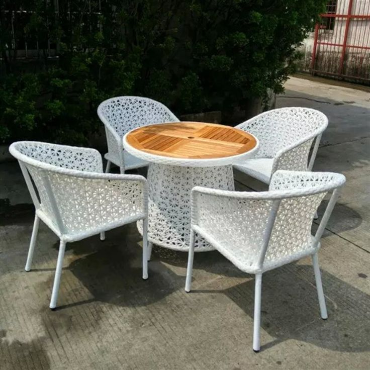 White Round Contemporary Plastic Patio Furniture Cheap Stained Design For Patio  Furniture Clearance