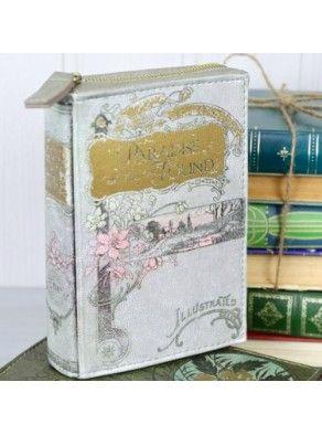 """PORTAFOGLIO """"BOOK CLUB"""" by DISASTER DESIGNS -grigio chiaro - Limon y Sal shop online"""