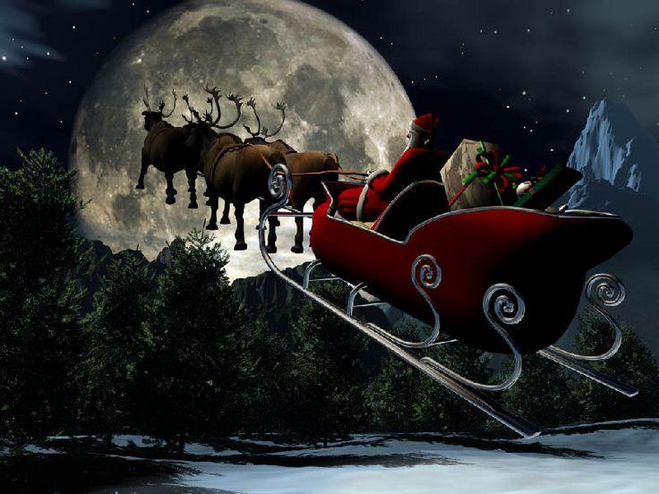 christmas pictures | Noel Baba' nın Geyikleri - Noel Baba Resimleri