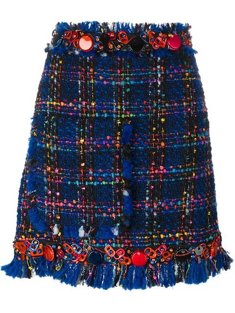 Shop MSGM tweed skirt  in Boutique Tricot from the world's best independent boutiques at farfetch.com. Shop 400 boutiques at one address.