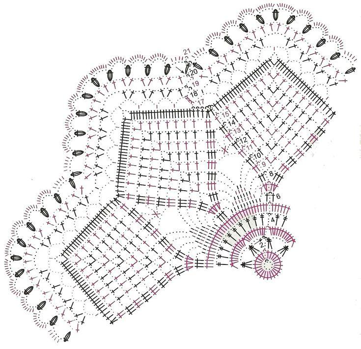 Схема Вязания, Винограда
