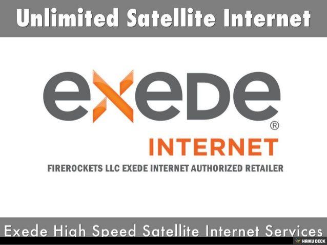 Unlimited Satellite Internet