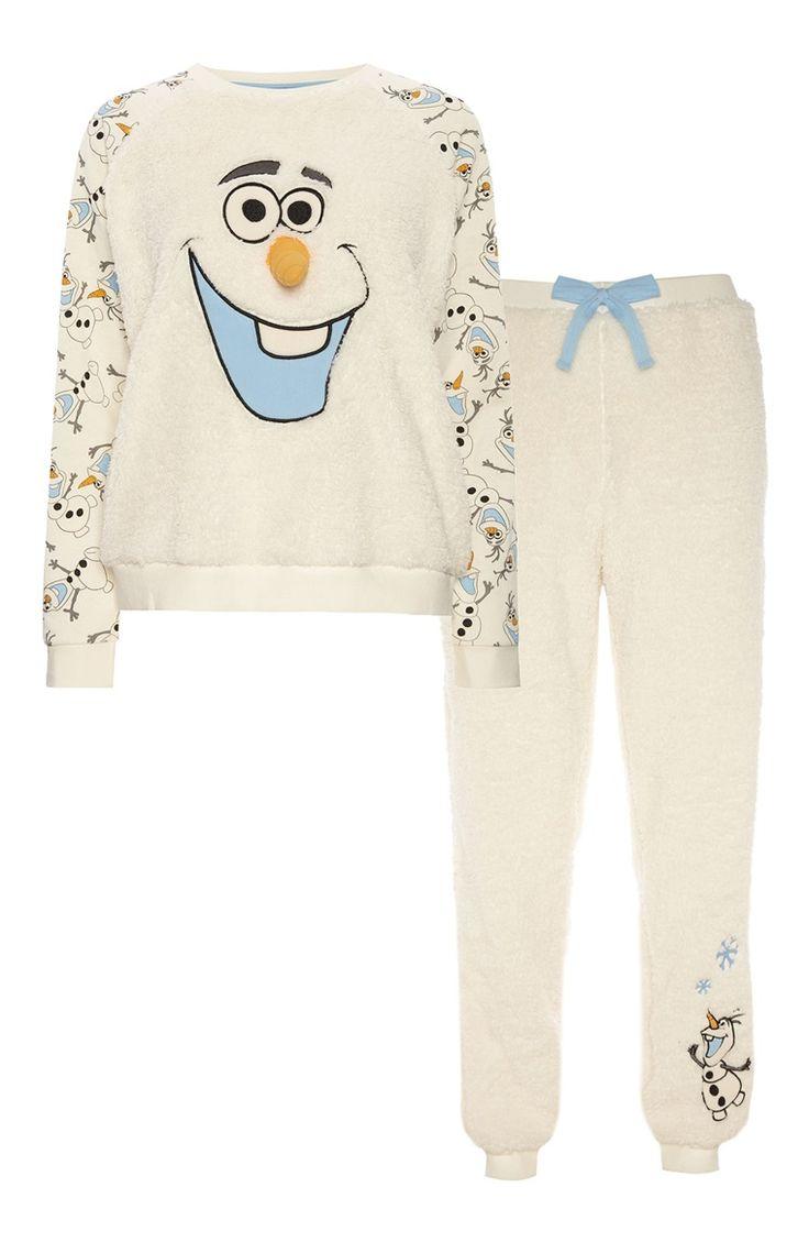 Pyjama sherpa La Reine des neiges