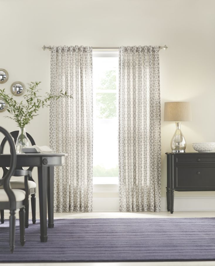 Do your windows need a little TLC? Freshen them up for fall! We're loving these floral gray curtains. Shop now: