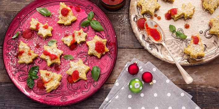 Sandwich di polenta. Per leggere la ricetta: http://myhome.bormioliroccocasa.it/myhome/it/home/spazio-alle-idee/mani-in-pasta/sandwich.html