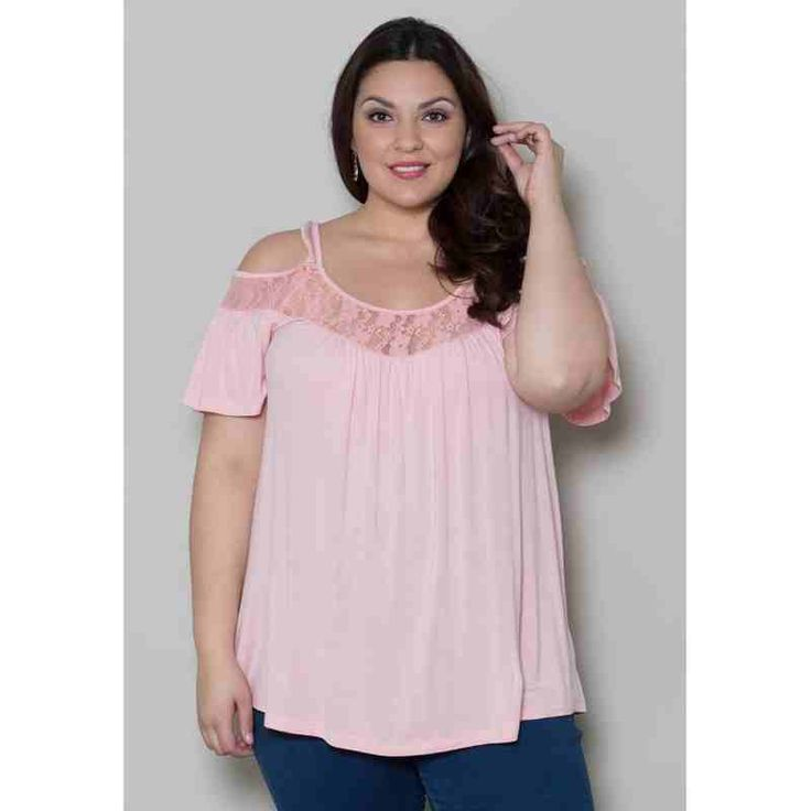 PRE-ORDER - Stacy Cold Shoulder Top (Light Peach) $44.00 http://www.curvyclothing.com.au/index.php?route=product/product&path=95_98&product_id=7398
