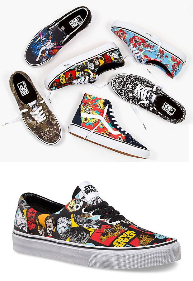Vans Star Wars Collection- shut up and take my money!
