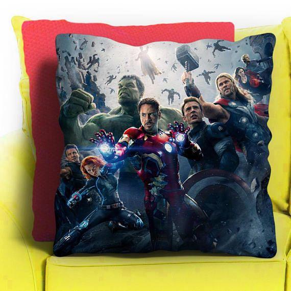 throw pillow cases marvel avengers