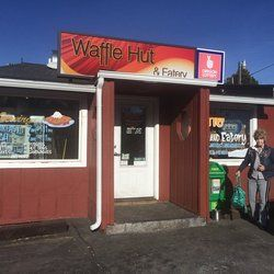 The Waffle Hut - Klamath Falls, OR, United States. Just a little hole in the wall, the Waffle Hut.