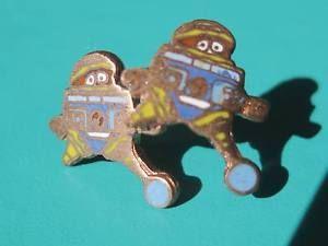 Vintage Disney Vincent Robot Tiny Earrings Post Back | eBay