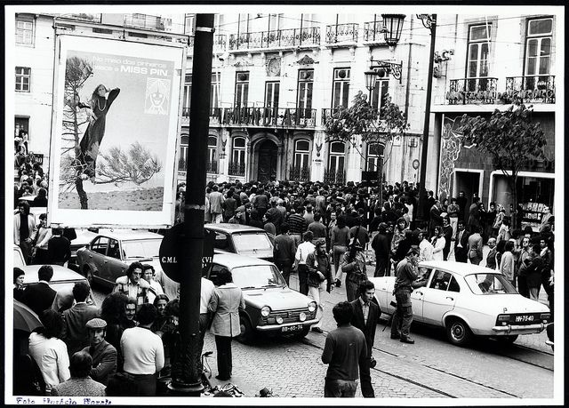 25 de Abril de 1974, Lisboa, Portugal - Estúdio Horácio Novais