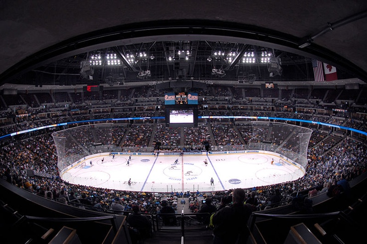 Happy Place #2 - The Pepsi Center, right before an Avs game. <3