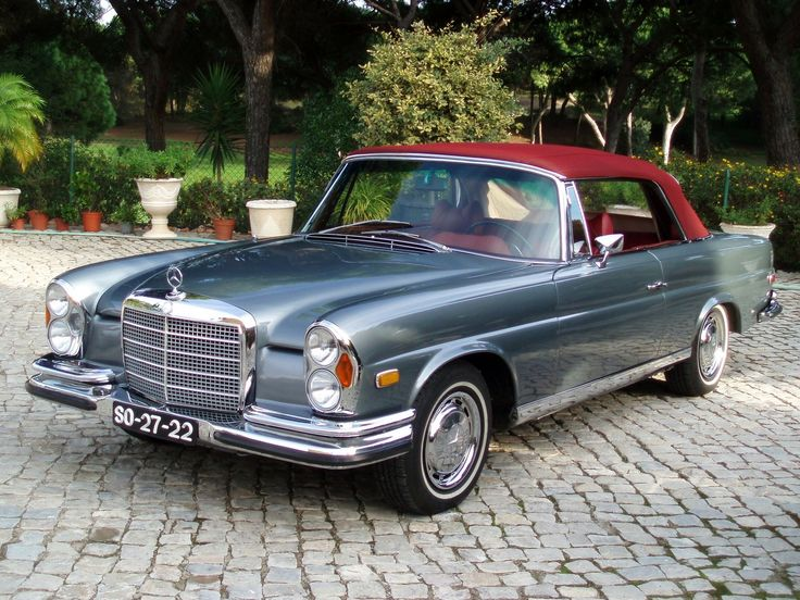 1970 Mercedes-Benz Cabrio 280 SE wallpaper