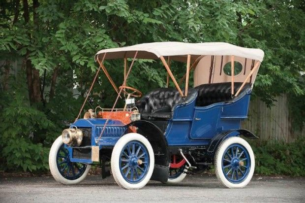 1904 Cadillac Model F 4-Passenger Touring - (Cadillac Motors, Detroit, Michigan 1902-present)