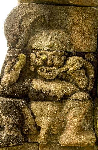 relief at Sukuh temple, Solo -Central Java - Indonesia