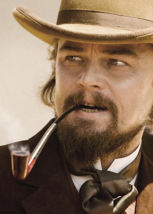 Leonardo Dicaprio - bad ass in Django unchained, he is damn good lookin