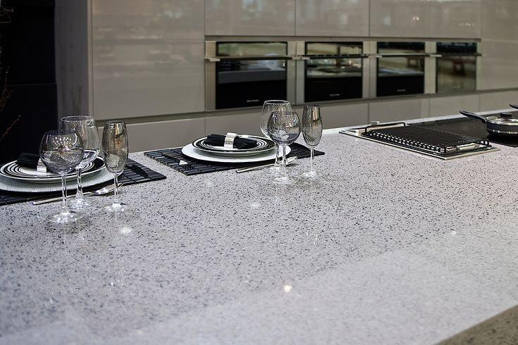 Silestone Quartz Counter Top In Quot Chrome Quot Marble