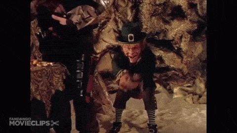 Leprechauns part 2: One of the greatest tourist  attractions was a horror movie created by Warwick Davis. The leprechauns were the horrific creatures. They aren't that scary to us because they look fake. It was still an amazing tourist attraction.