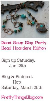 Badge for Bead Soup Blog Party, Bead Hoarders Edition