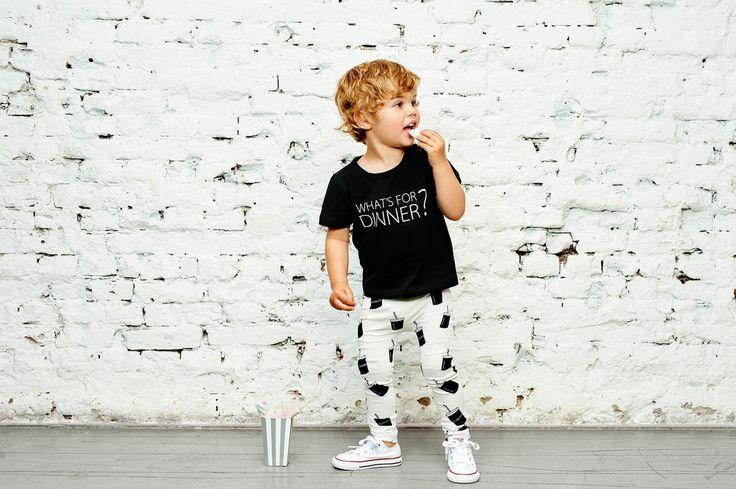 CarlijnQ SS17 What's For Dinner? - Chalk Kids