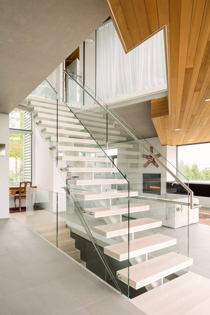Belmont Residence by Natural Balance Home Builders  Interior StairsHouse  ...