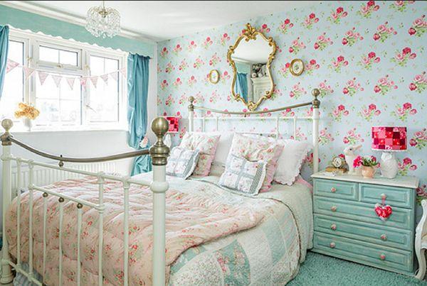 A Cottage Chic Cath Kidston Home, lovelybedroom, cath kidston wonderland