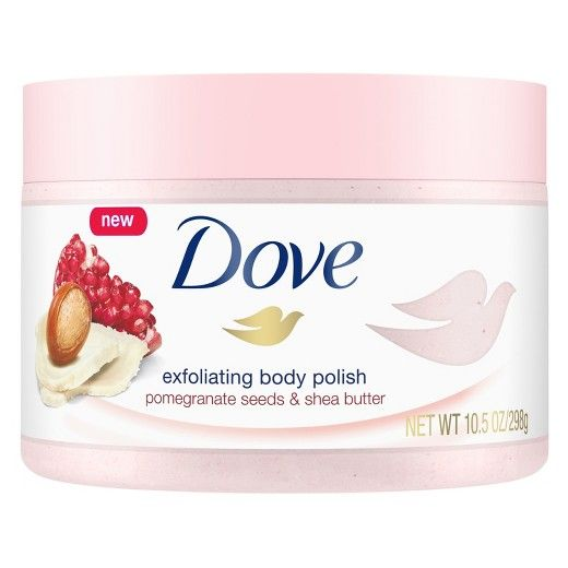 Dove Body Polish Pomegranate And Shea Butter 10 Oz Target Body
