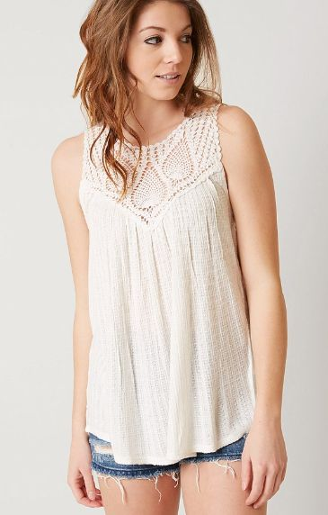 Lucky Brand Lace Tank - Women's Clothing | Buckle
