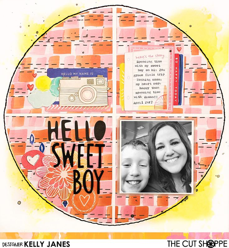 It's (Inter)National Scrapbooking Weekend! YAY! I love any reason to scrapbook, and this is a great reason to get yourself into your craft space! The Cut Shoppe has a couple of exciting thing…