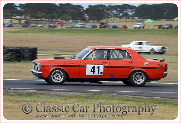 Falcon GT in action at the Phillip Island Classic 2014