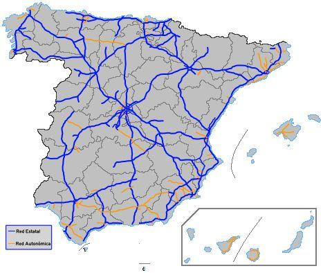 Archivo:Red española de autopistas y autovías2.PNG