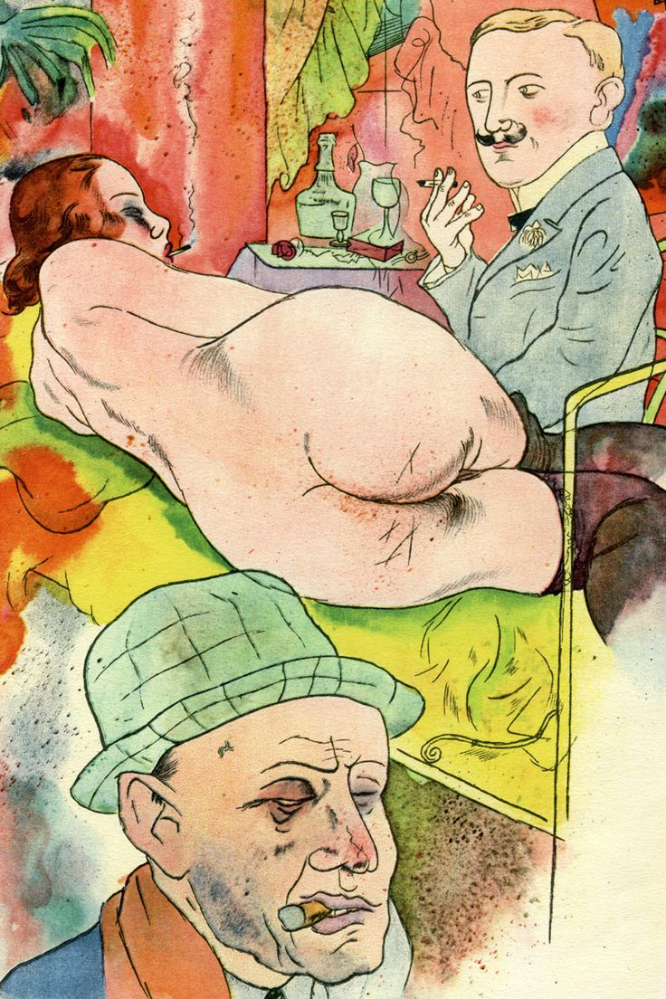 George Grosz's provocative Ecce Homo suite of lithographs saw him prosecuted for offending public decency. Read our article to find out why.