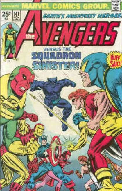 Squadron Sinister - Marvel - Nuff Said - Fighting - Mightiest 141