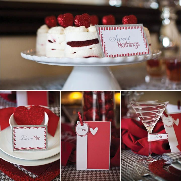 37 best valentine 39 s church dinner images on pinterest for Valentine dinner party ideas