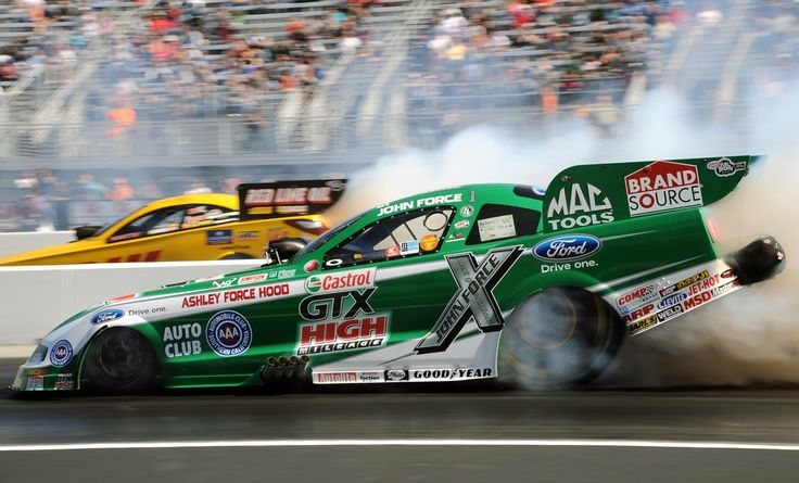 john force racing | John Force Mustang Funny Car: