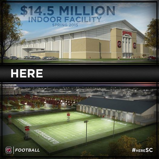 Our facilities just keep getting better!