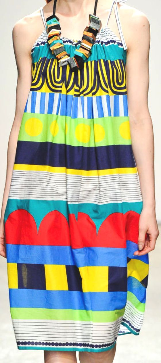 WOMEN'S FASHION COLLECTIONS SPRING/SUMMER 2013: MARIMEKKO'S PRINTS FROM NEW YORK CATWALKS